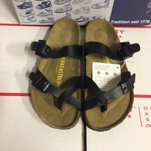 Birkenstock Black Mayari Sandals